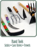 Hand Tools - Sickles, Cane Knives, Trowels